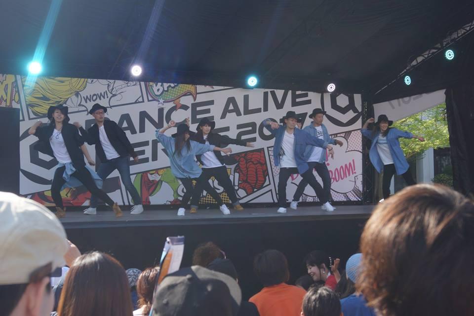DANCE ALIVE HERO'S 2017 / SHOWCASEに満喜Crew(オアシス雪谷)出演【20170423日】