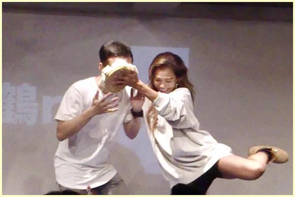 鶴no舞【サプライズ】ケーキインパクト3