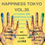 【20190914土】HAPPINESS TOKYO vol.35【SHIFTY渋谷】