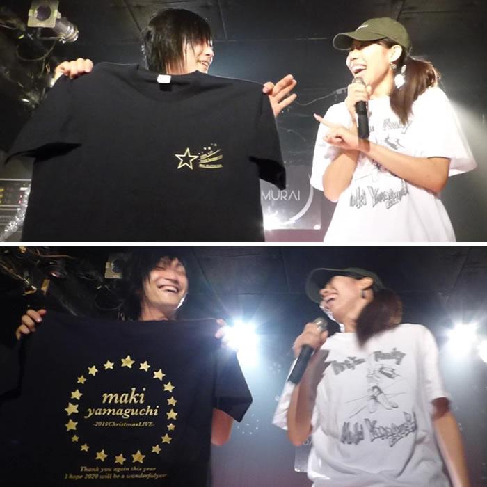グッズとして販売されたオリジナルTシャツ-1