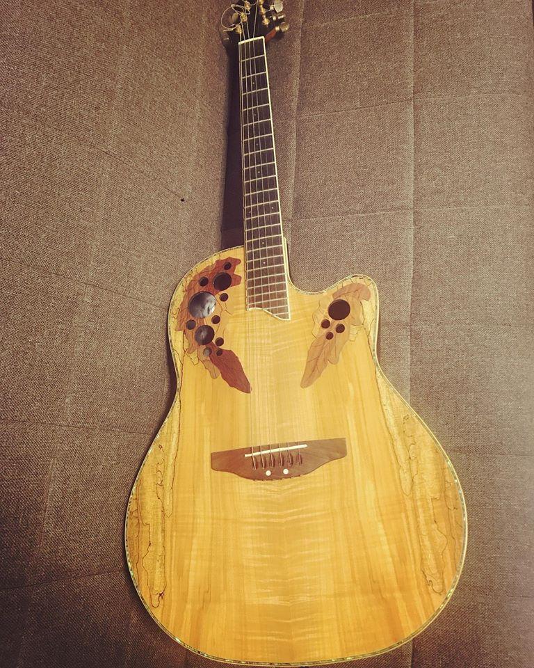 山口、初めてのギター発表会